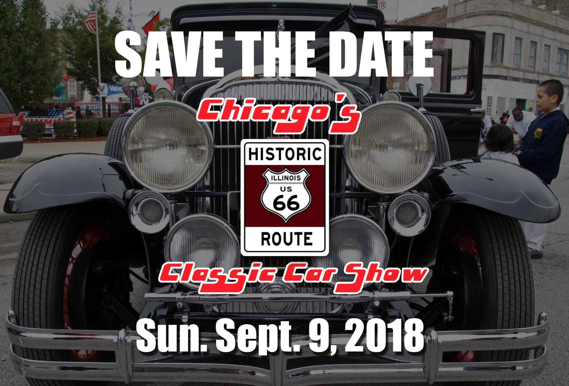 Chicagos Historic Route Classic Car Show SEP - Route 66 car show