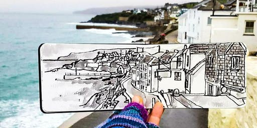Sketchwalk Workshop with Melanie Chadwick - Porthleven
