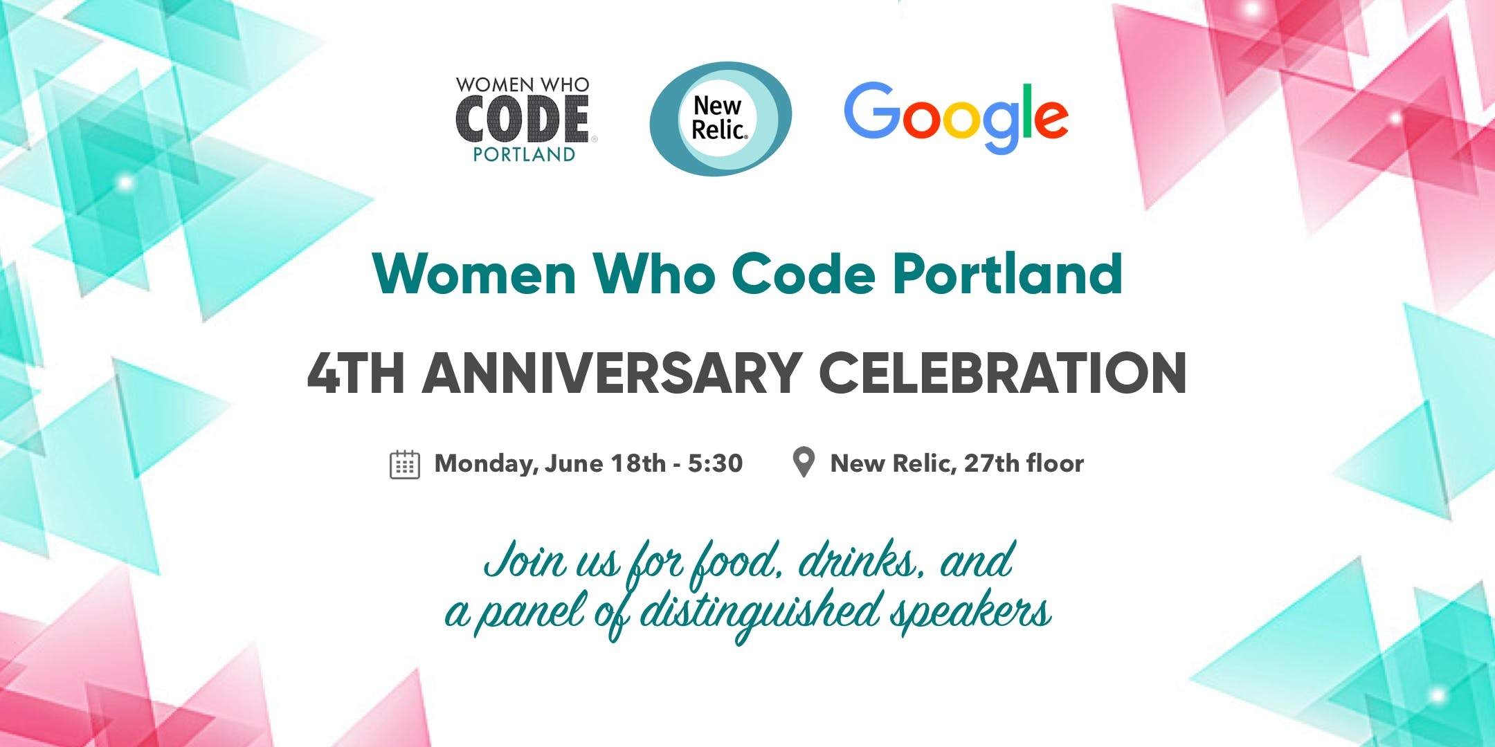 Women Who Code Portland - 4th Anniversary Cel