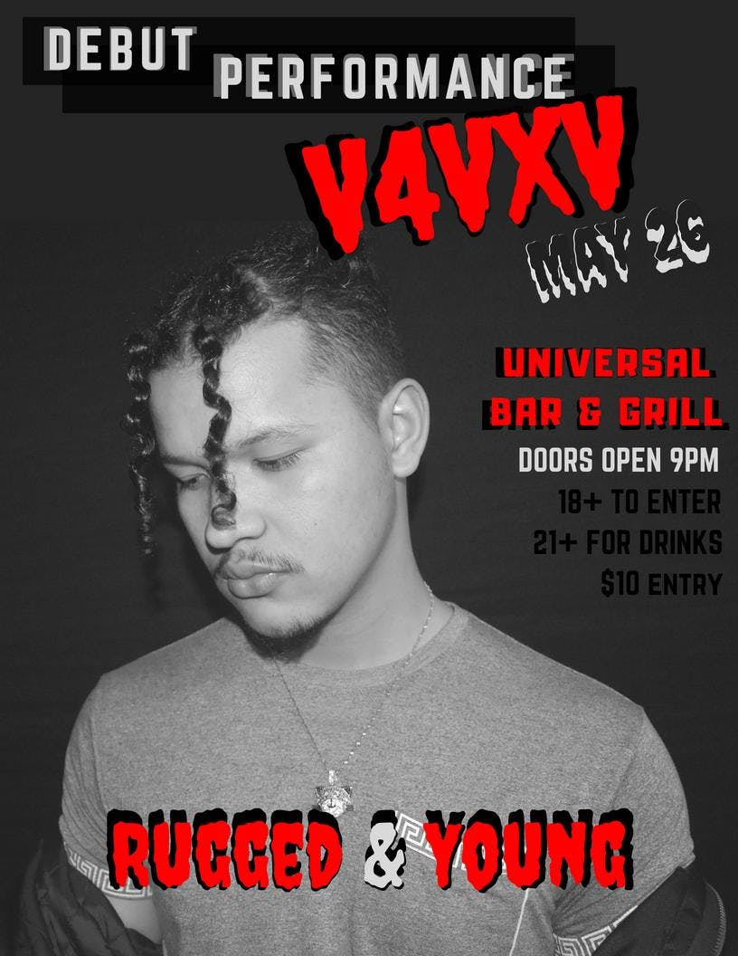 Rugged and Young - V4VXV Debut Performance