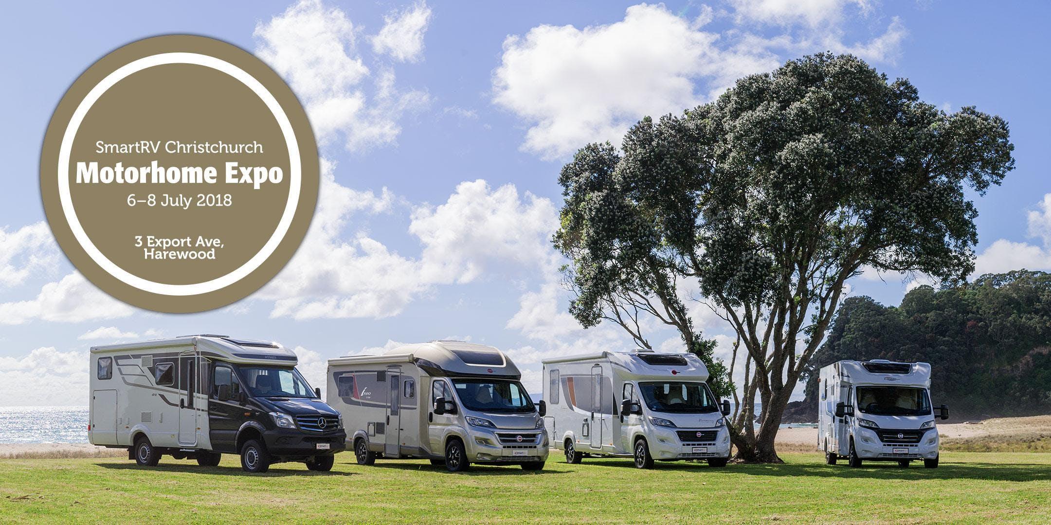 SmartRV Christchurch Motorhome Expo