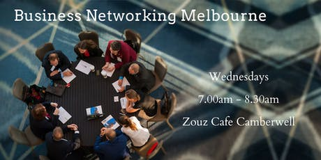 Business Networking Melbourne - BNI Business Builders tickets