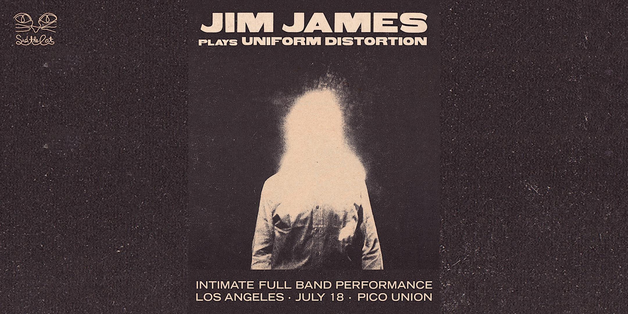 "Jim James  plays ""Uniform Distortion"" - Intimate full band performance"