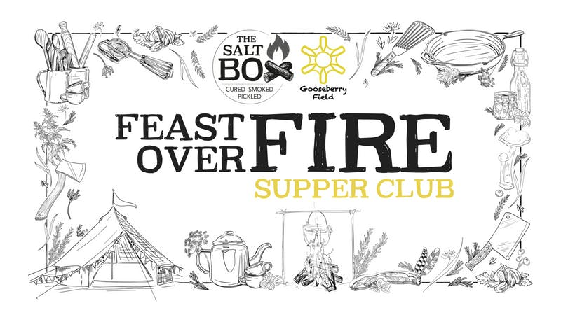 Seafood Feast over Fire at Gooseberry Field w