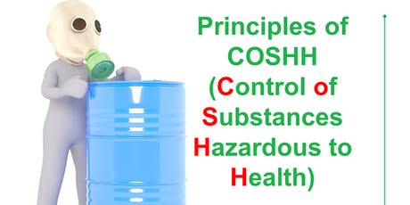 QA Level 2 Award in Principles of COSHH (RQF) tickets