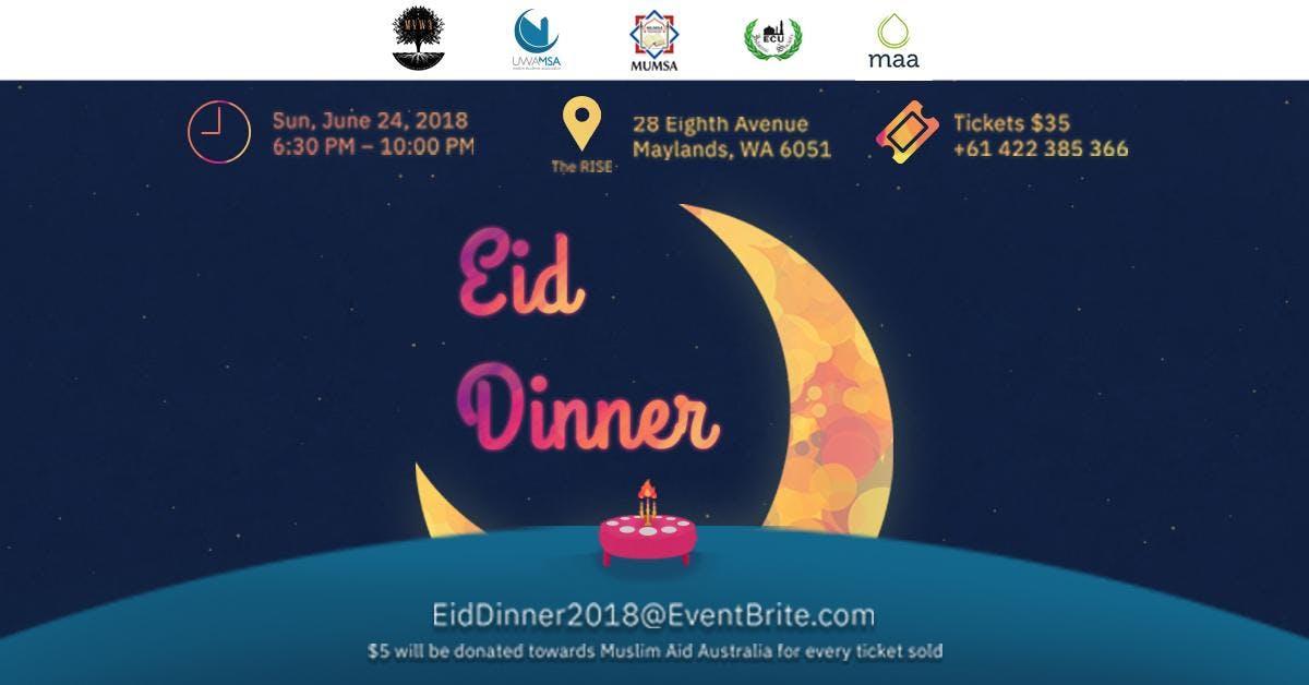 MYWA Annual Eid Dinner 2018