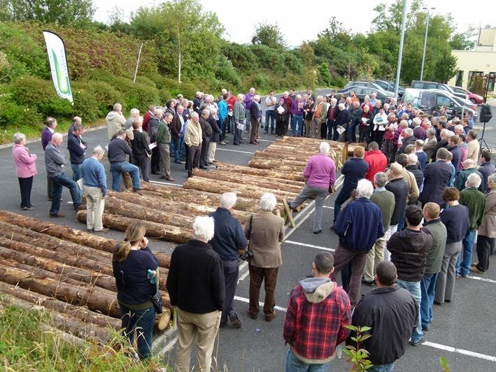 TALKING TIMBER 2018 - timber marketing event in Co Wexford