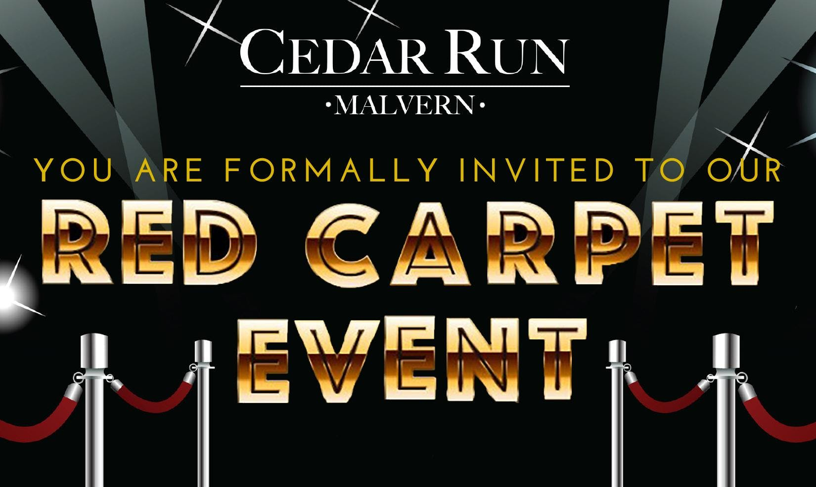 Cedar Run Exclusive Red Carpet Event