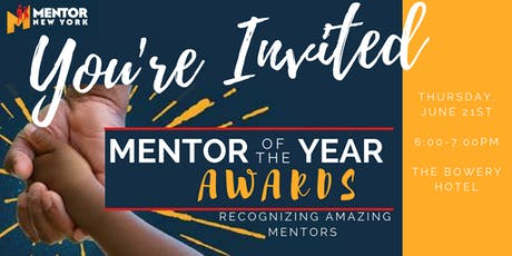 2018 Mentor of the Year Awards tickets