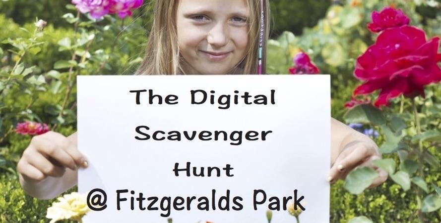 The Digital Scavenger Hunt / 2pm / 8 to 11 year olds