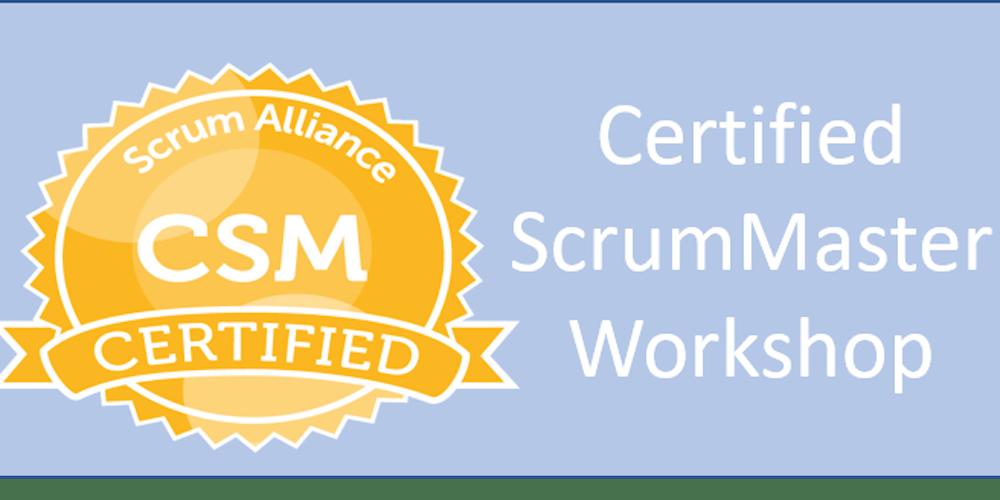 Certified Scrum Master Workshop Columbus Oh Tickets Mon Oct 22