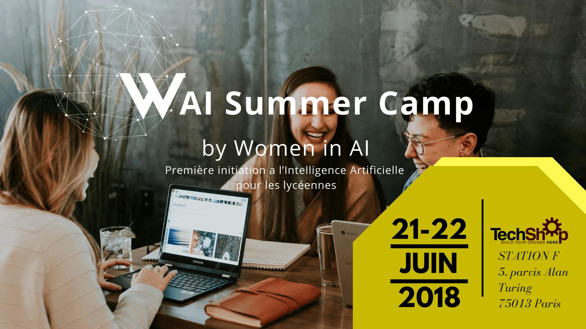 WAI Summer Camp Paris 2018 - Women in AI