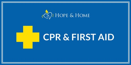 CPR & First Aid tickets
