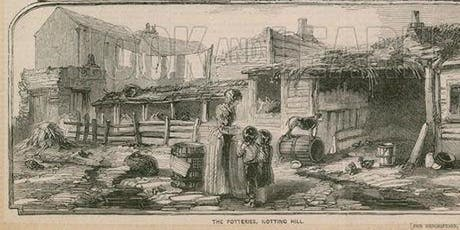 Walk Notting Hill - a FREE two hour guided walk in Dickens' footsteps through 200 years of poverty and wealth biglietti