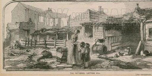 Walk Notting Hill - a FREE two hour guided walk in Dickens' footsteps through 200 years of poverty and wealth