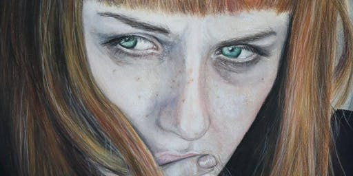 Color Pencil Portrait Drawing Art classes