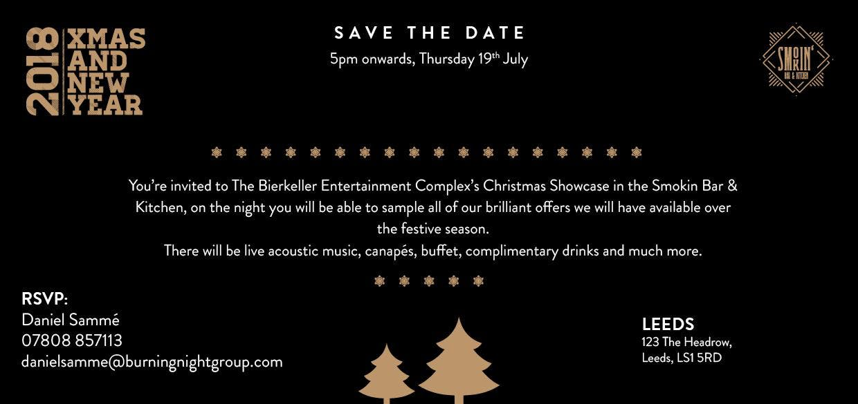 Christmas Showcase & Networking