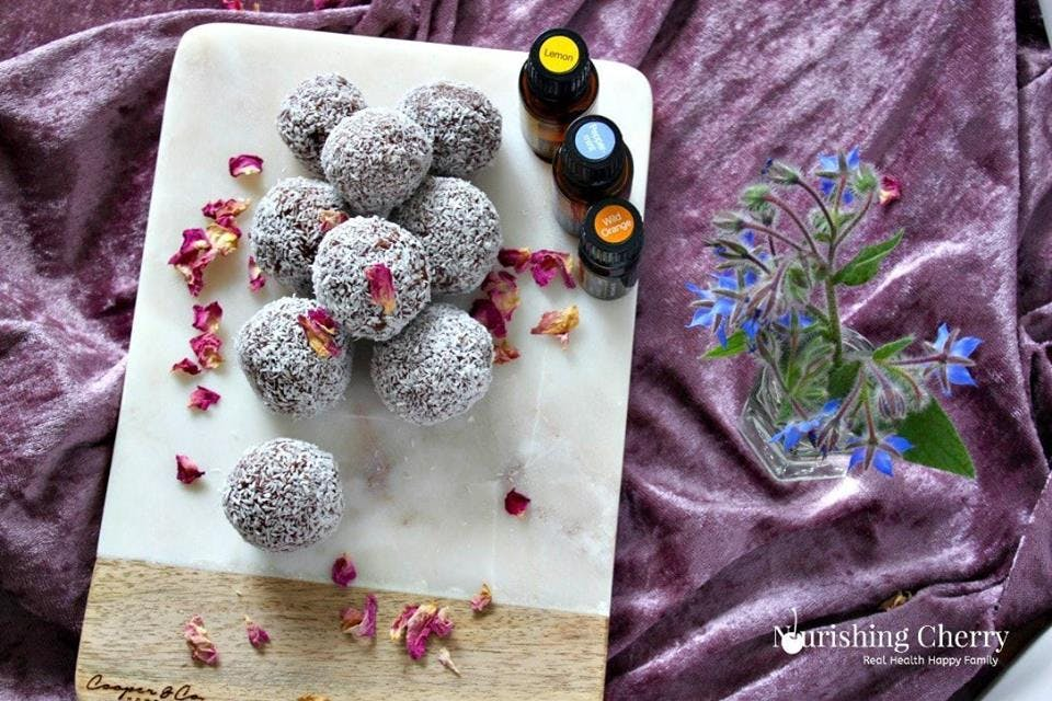 Using Essential Oils in Raw Desserts