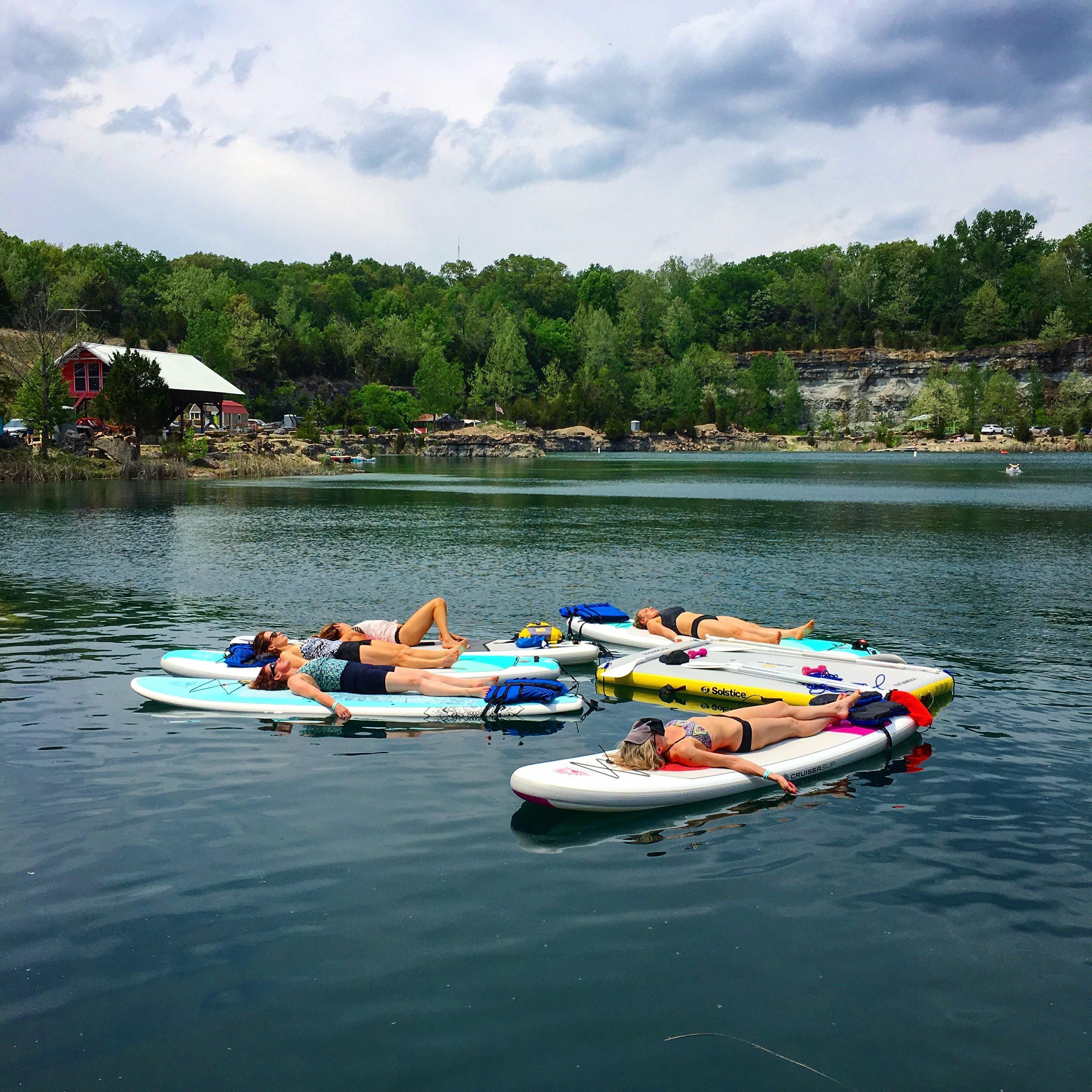 Flow Float &amp Paddle Adventure Retreat at FRP LaGrange Quarry