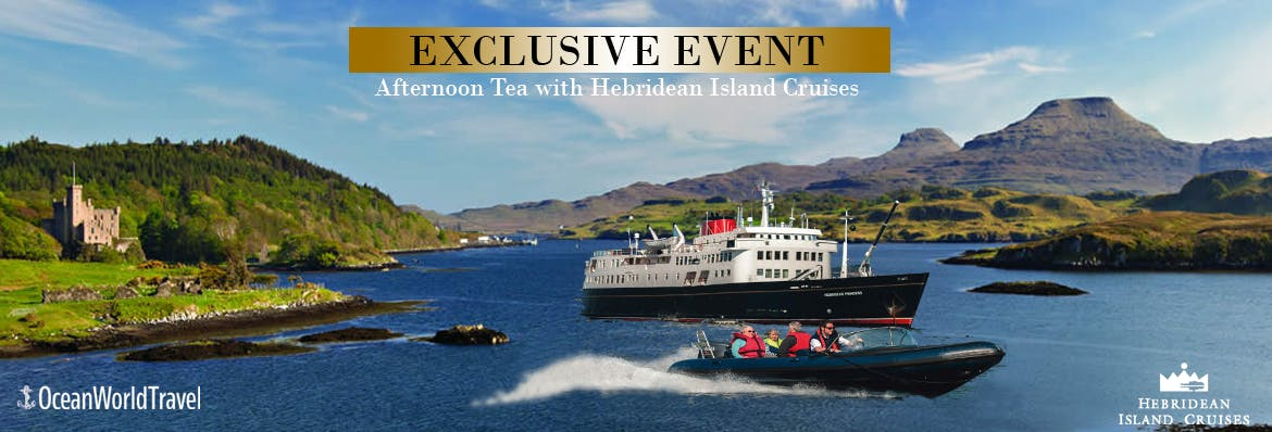 Afternoon Tea with Hebridean Island Cruises