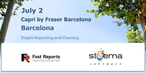 Delphi Reporting and Charting Day Barcelona