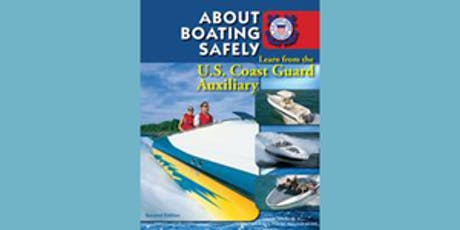 About Boating Safely (ABS) tickets
