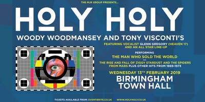 Holy Holy Featuring Woody Woodmansey Tony Visconti Town Hall