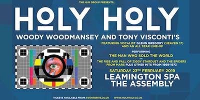HOLY HOLY featuring Woody Woodmansey & Tony Visconti (Leamington Assembly, Leamington Spa)