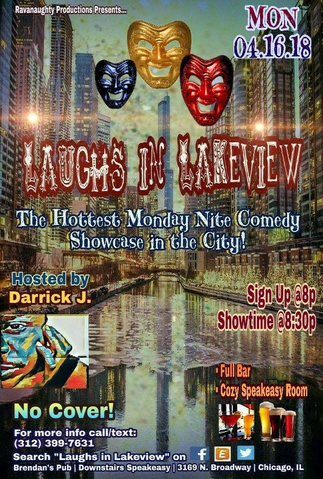 Laughs in Lakeview Stand-Up Comedy Showcase