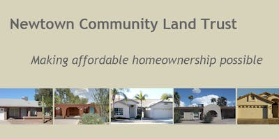 Newtown Community Land Trust Workshop - Tempe 12/6/18