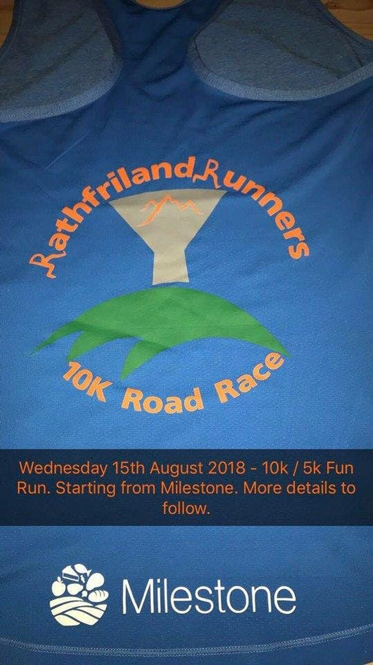 Rathfriland Runners 10K Run & 5K Fun Run/Walk