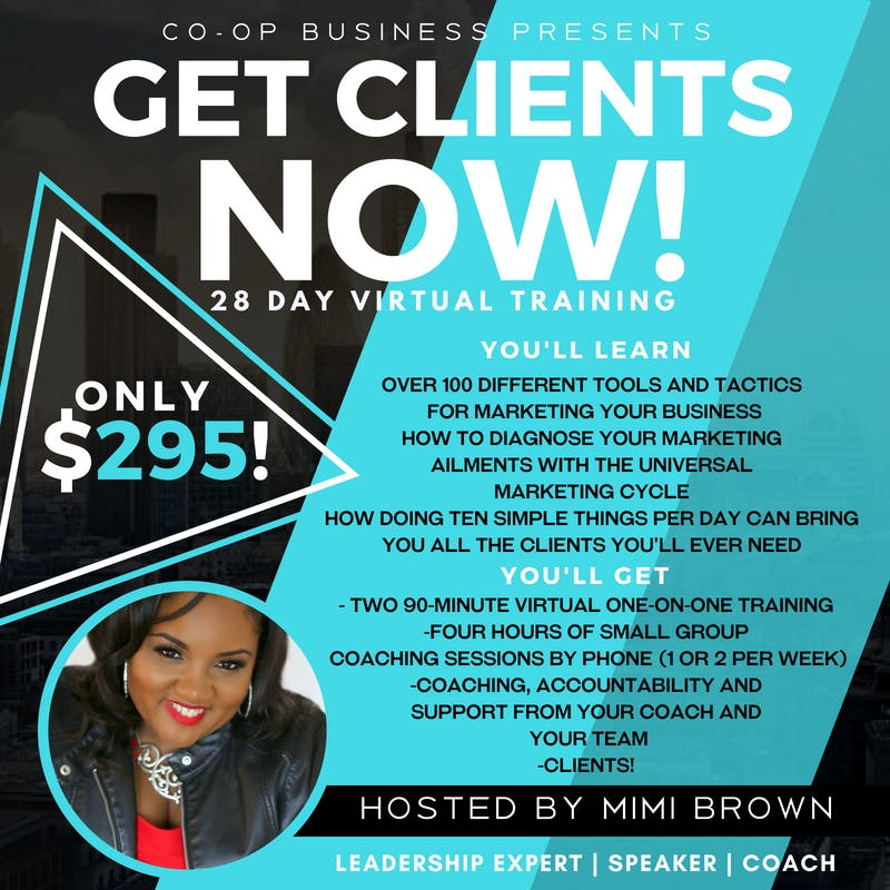 GET CLIENTS NOW! WITH MIMI BROWN