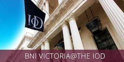 BNI VICTORIA @ THE IOD: PALL MALL