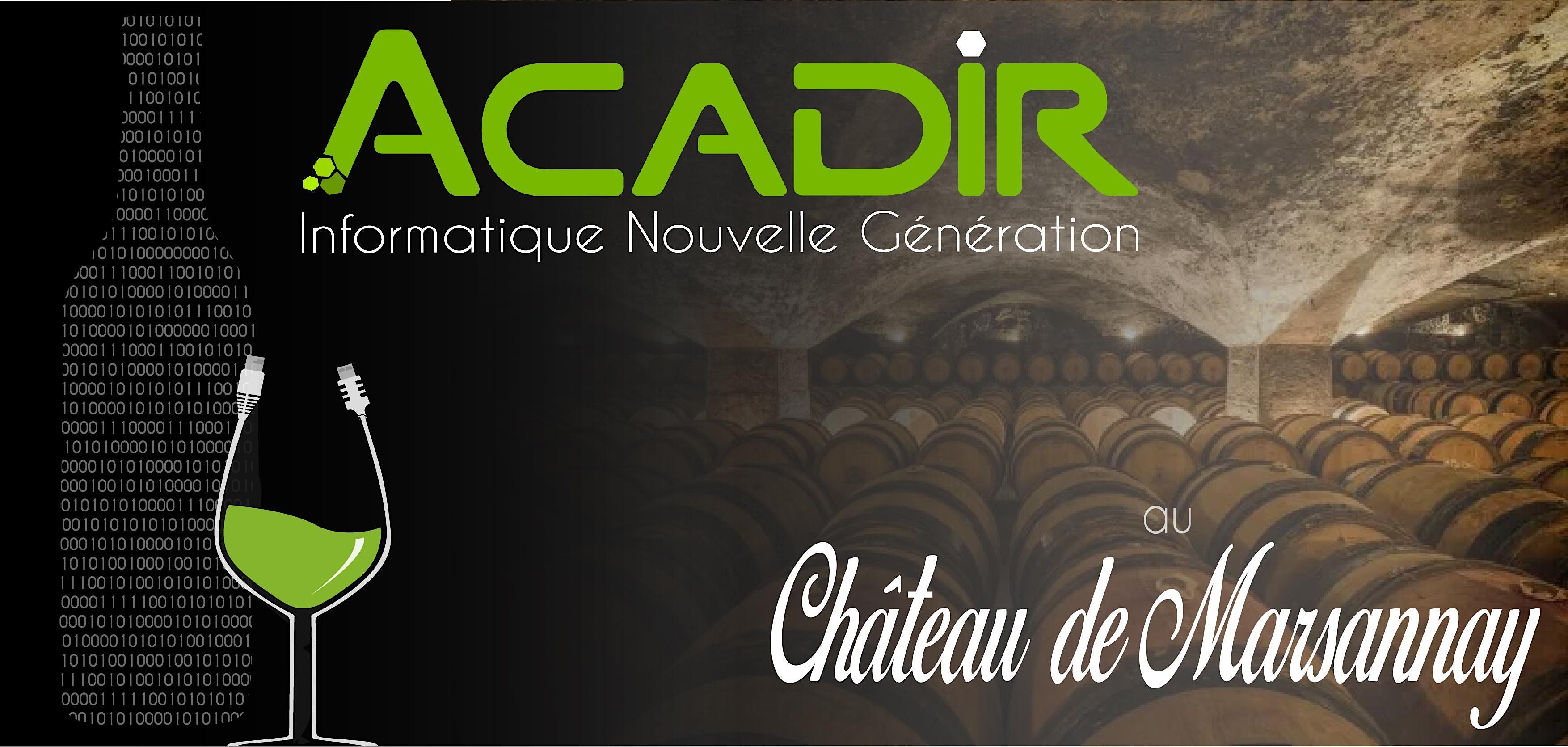 La protection totale des données s'invite au Château de Marsannay avec Acadir et Datto !