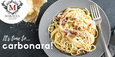 It's time to...CARBONARA!