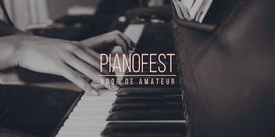 PianoFest 2018 - het pianofestival voor de amateur