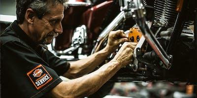 Harley-Davidson Schrauberkurs: Motorradtechnik