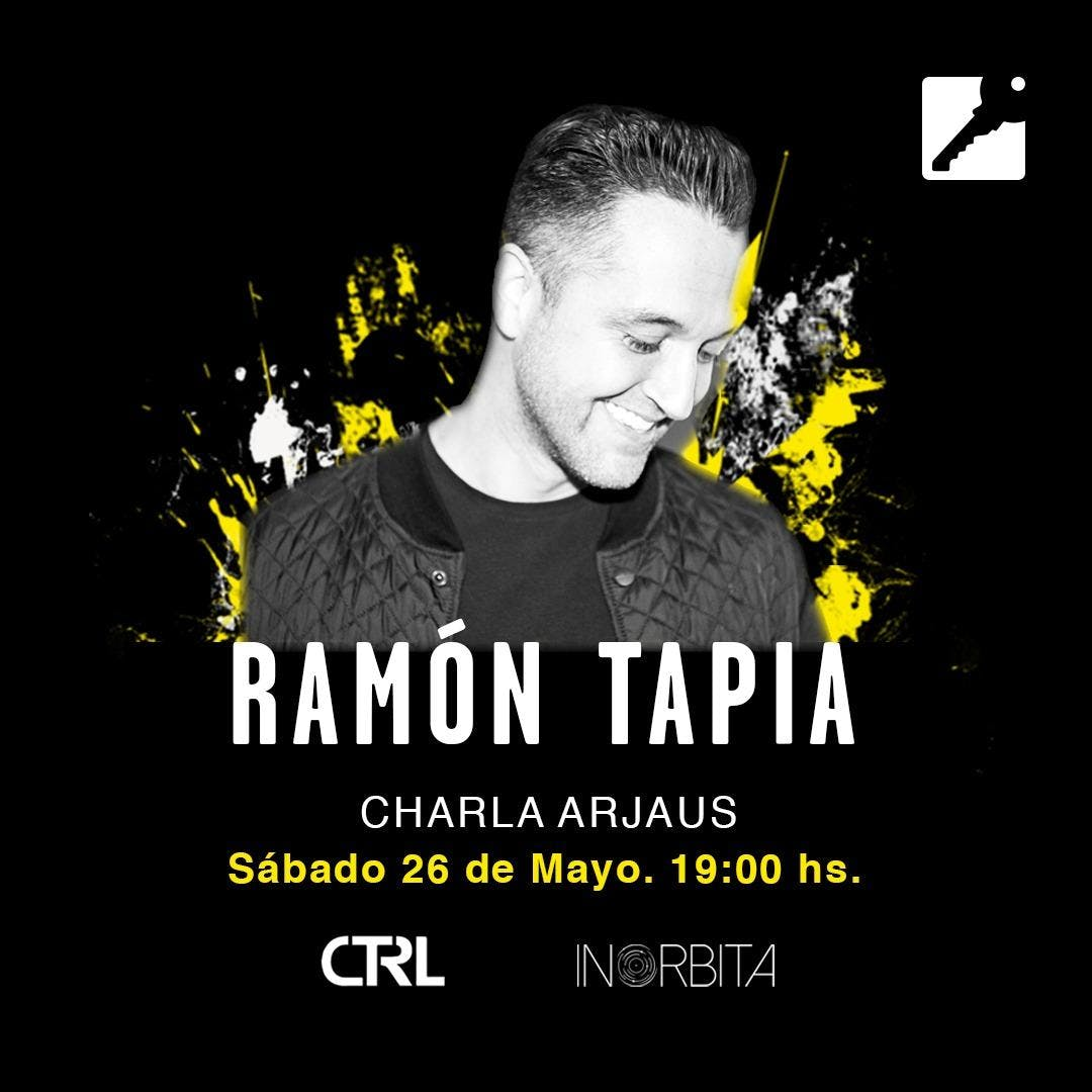 "Charlas Arjaus presenta ""Ramon Tapia"""
