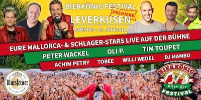 Bierkönig Festival - Leverkusen 2018 - Stehplatztickets