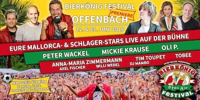 Bierkönig Festival - Offenbach 2018 - Stehplatztickets