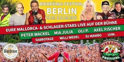 Bierkönig Festival - Berlin 2018 - Stehplatztickets