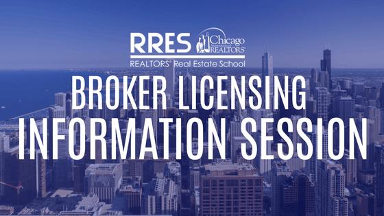 Broker Licensing Information Session 15 Sep 2018