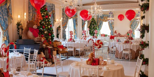 teddy bear tea at taj boston