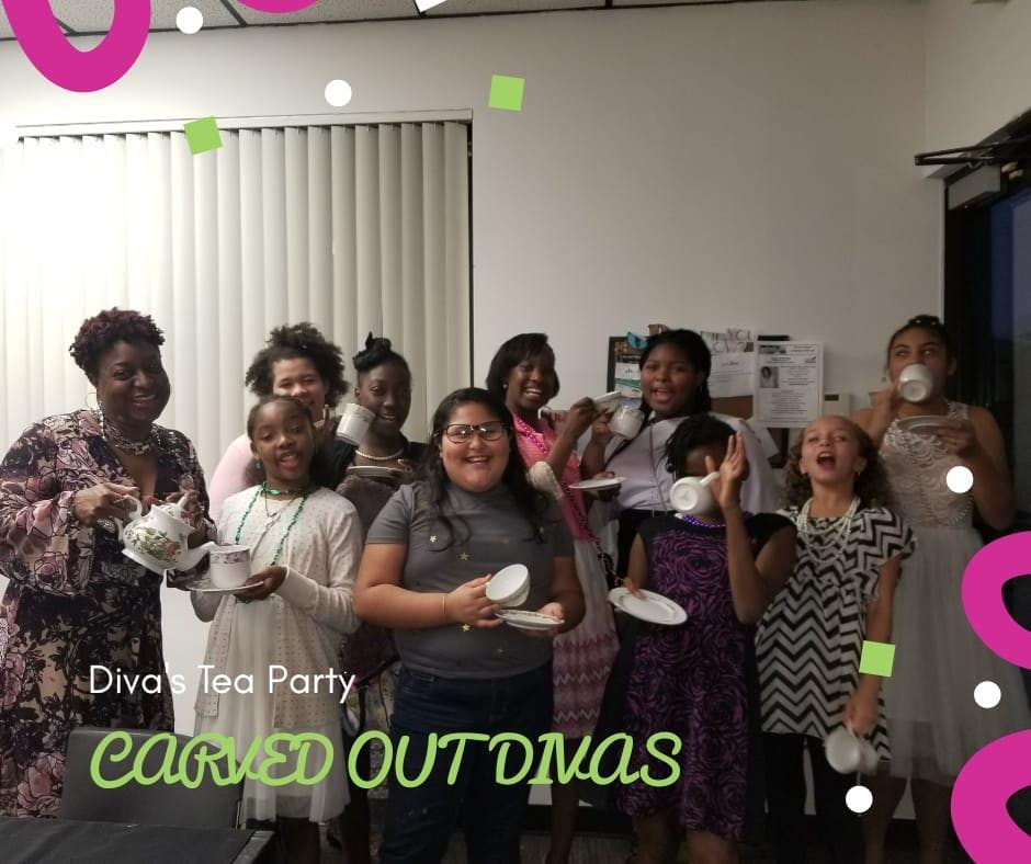 Little Divas Tea Party 21 Jul 2018