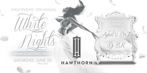 WHITE PARTY @ HAWTHORN BY AYKUT EVENTS