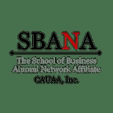 CAUAA-School of Business Alumni Network Affiliate (SBANA) logo