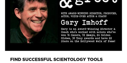 Los angeles ca celebrity meet and greet events eventbrite meet greet with award winning directorproducer gary imhoff m4hsunfo