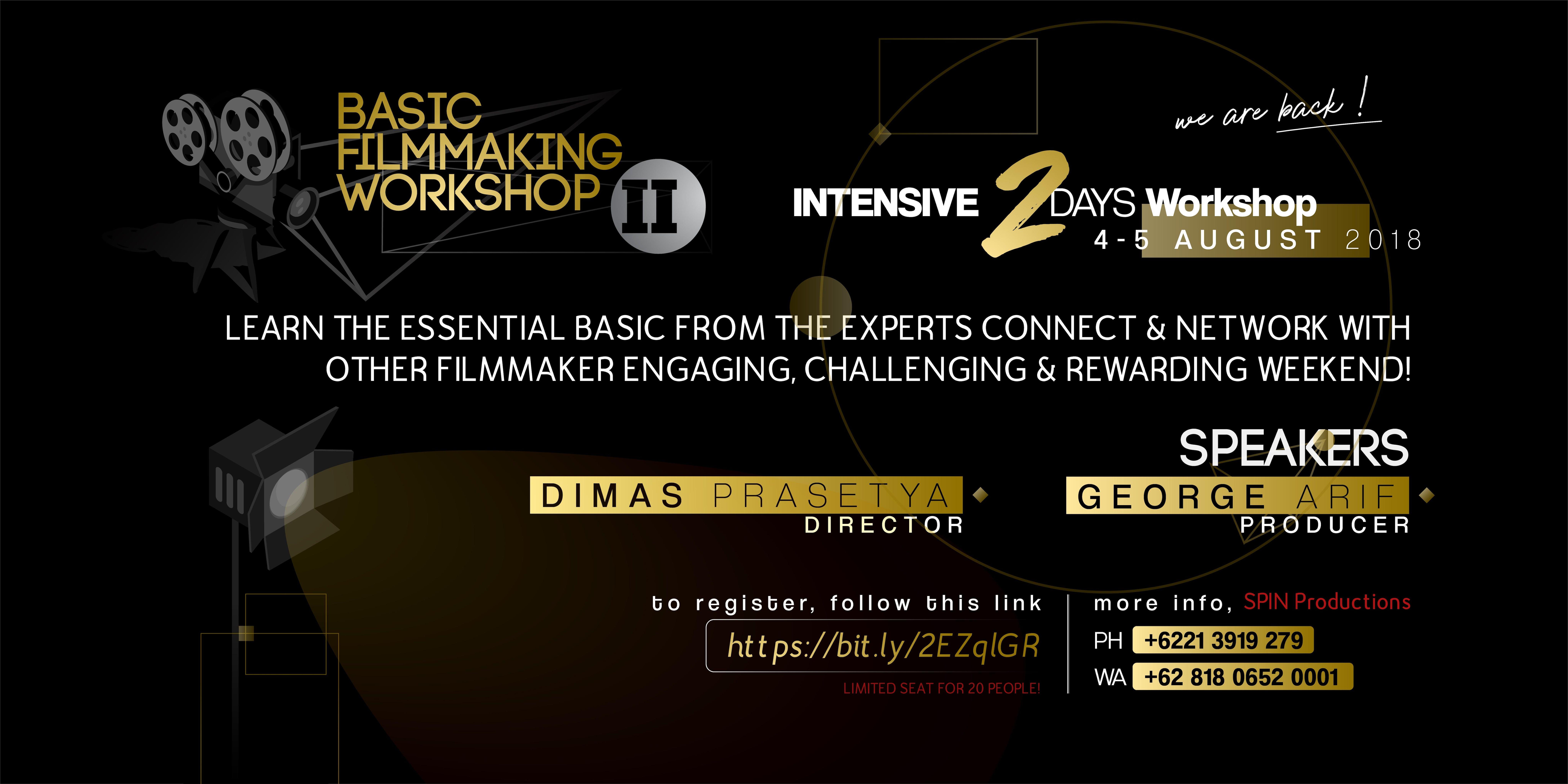 Basic Filmmaking Workshop