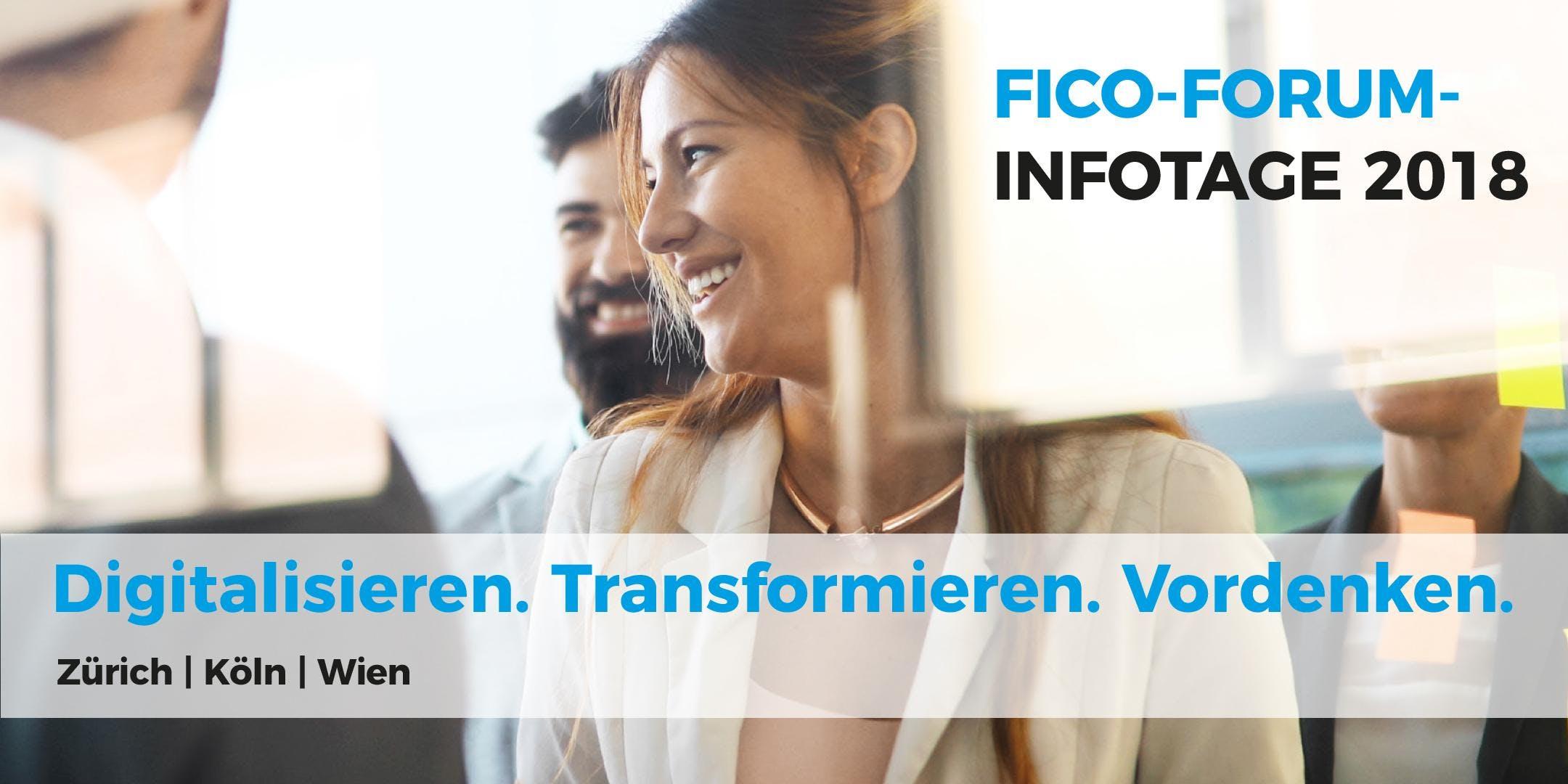FICO-FORUM-INFOTAGE 2018 (Zürich, CH)