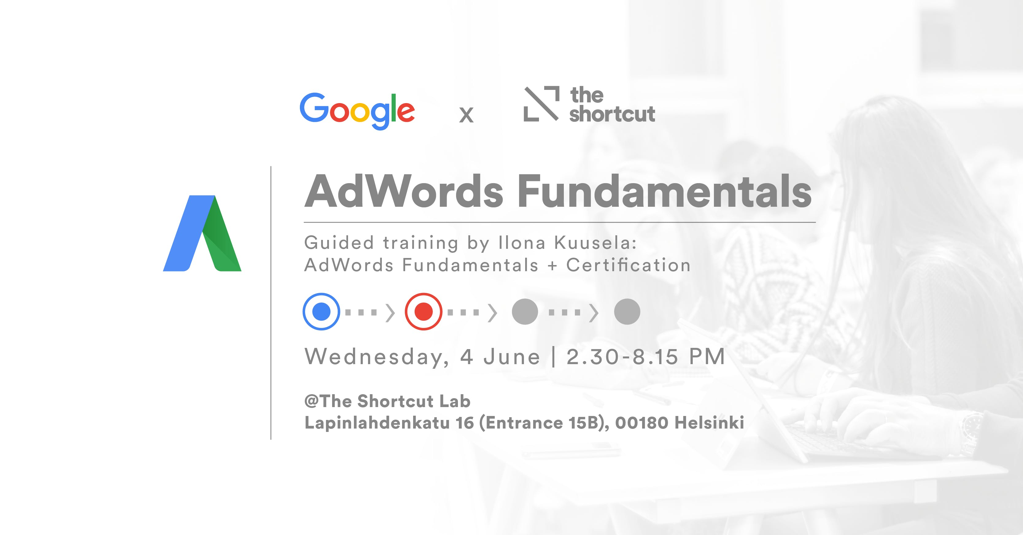 Get Google Certified Adwords Fundamentals 4 Jun 2018